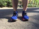 ASICS FuzeX: El Upper de las Fuzex la hacen una zapatilla estéticamente diferente.
