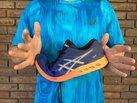 ASICS FuzeX: La Asics Fuzex es una zapatilla bastante flexible.
