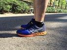 ASICS FuzeX: Primeras impresiones con la Asics Fuzex en los pies.