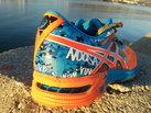 Asics Gel Noosa TRI 10: Contrafuerte contundente y decoración de termopegados original