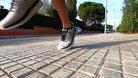 Hoka One One Arahi 4: La zapatilla es dificultosa de flexar si, pero el metarocker facilita mucho el movimiento