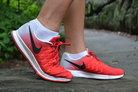 Nike Air Zoom Pegasus 33: Como véis, Air Zoom a lo largo de toda la mediasuela de las Nike Pegasus 33