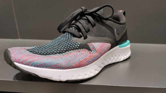 Zapatillas de running de mujer Odyssey React 2 Flyknit FLR Nike