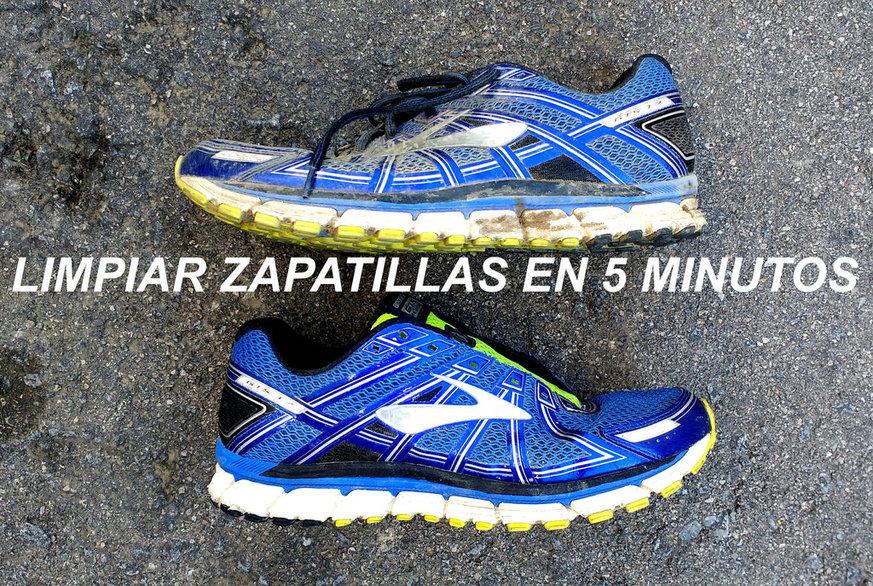 Cómo limpiar zapatillas de running en 5 minutos