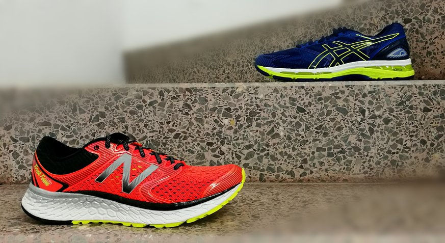New Balance Vs Nike Walking Shoes