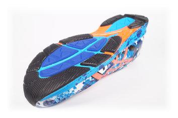 El Wet Grip es un compuesto que aumenta el agarre de la zapatilla, sobretodo en mojado