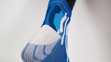 Un calcetín preparado para entrenar en cualquier época del año