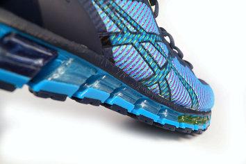 Ajuste y protección para una zapatilla con acabados de alta calidad.