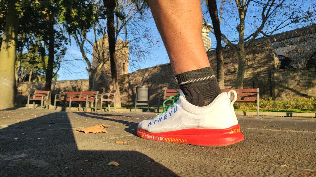 Atreyu destaca por la simplicidad de su zapatilla