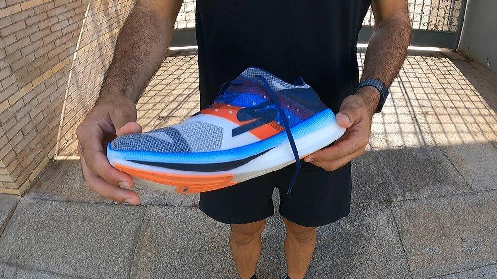 Zapatilla para corredor experimentado y con cierta técnica