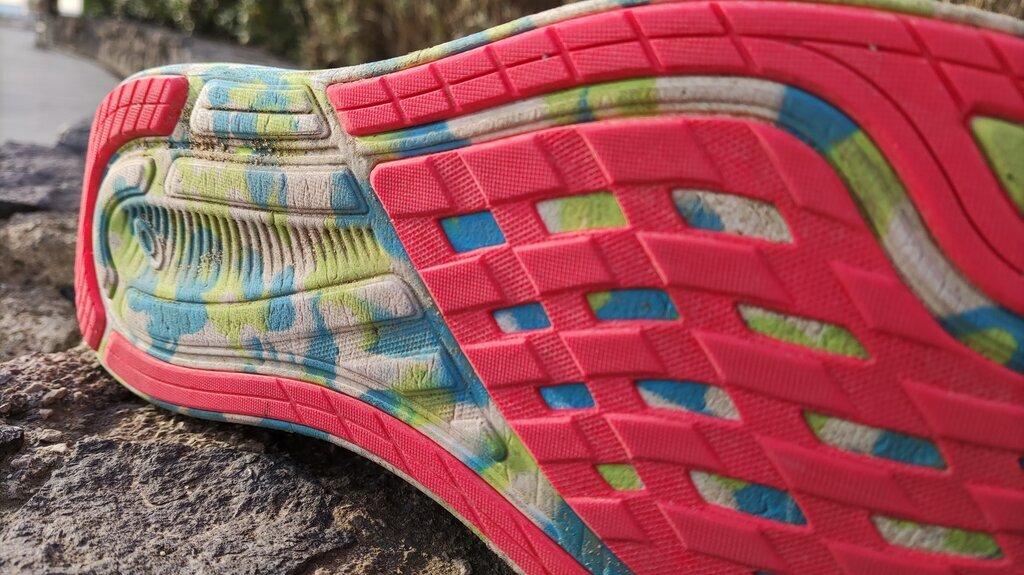 El guidesole en esta zapatilla exigirá de una pequeña adaptación