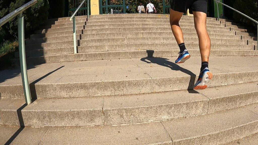 A ritmos suaves son unas zapatillas que no se sienten muy cómodas